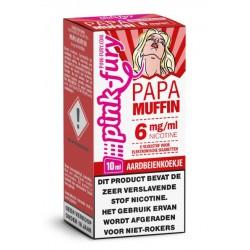 Pink Fury Papa Muffin