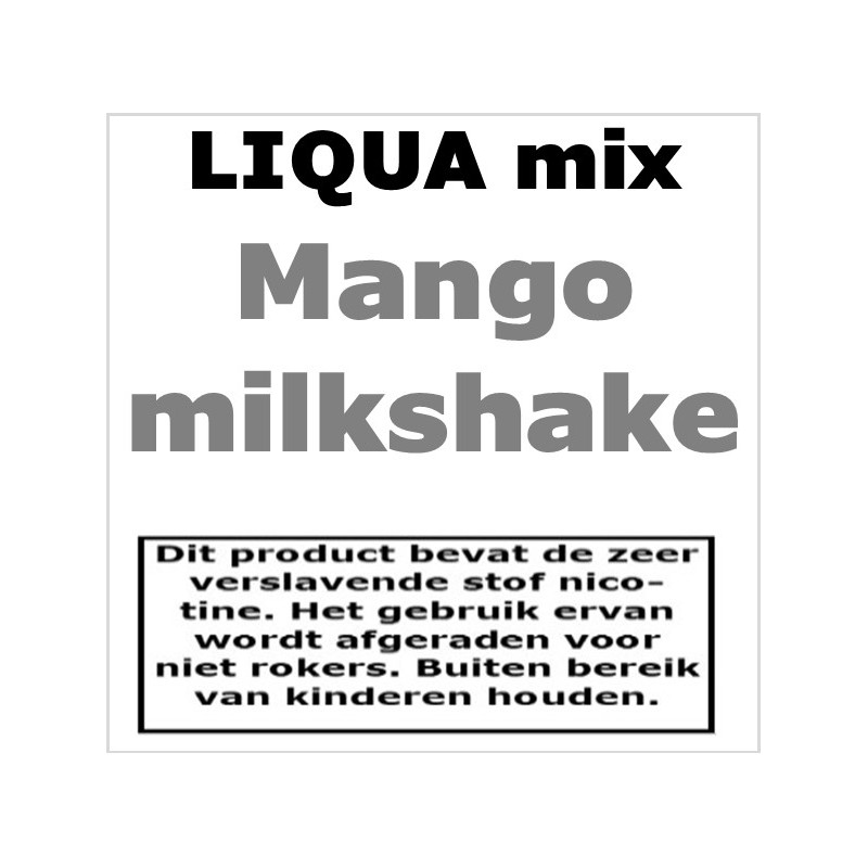 Liqua Mix Mango Milkshake