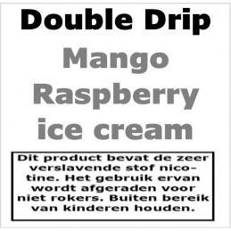 DoubleDrip Mango Raspberry ice Cream