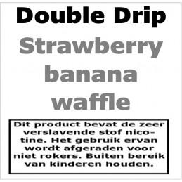 DoubleDrip Strawberry Banan Waffle
