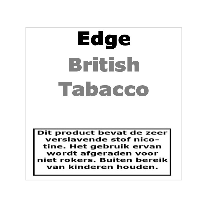 edge british tabacco