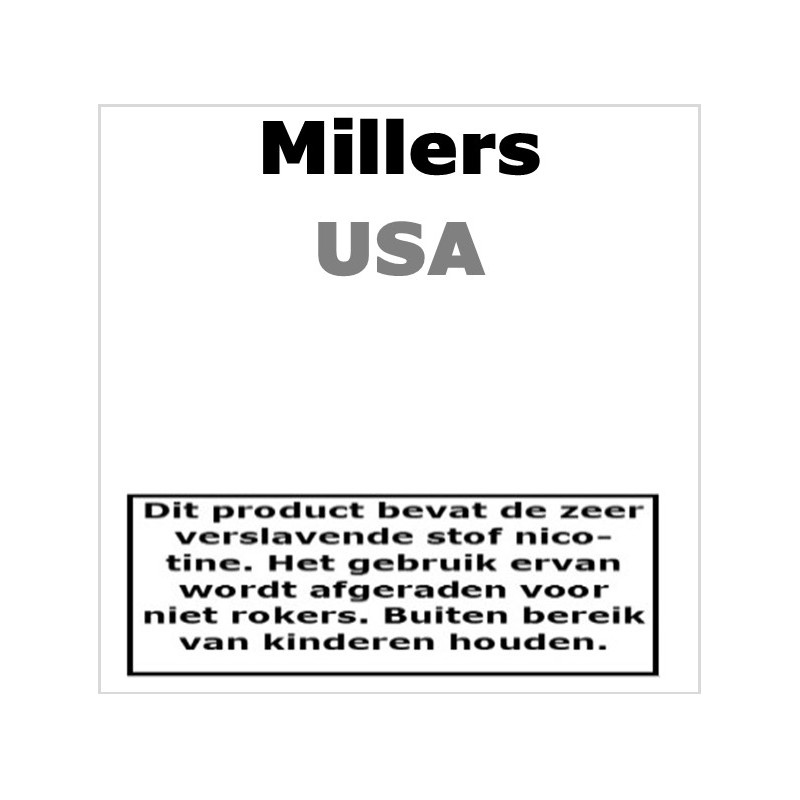 Millers Silverline - USA Regular