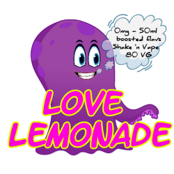 Love Lemonade - 0MG Shake 'N Vape